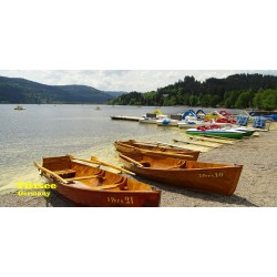 Strandtuch Titisee&Boot