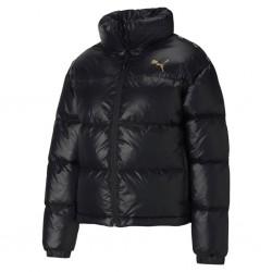 582220 01 Shine Down Jacket PUMA Farbe schwarz